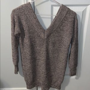 NWOT Dynamite Open V-Shoulder Knit